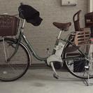 パナソニック 電動自転車 カーキ