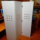 お取引終了しました。 IKEA(イケア)の折り畳みホワイトパーテーション