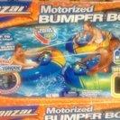 Banzai バンパーボート 子供用電動浮き輪 水鉄砲付き オレンジ