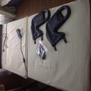 ほぼ新品!! 介護ベッド 収納式電動リクライニングベッド