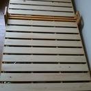 木製折り畳み式ベッド‼