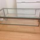 ニトリ ガラスローテーブル