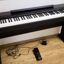 【電子ピアノ】YAMAHA P-140 スタンド・ペダル・譜面台付き