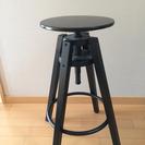 IKEA DALFRED バースツール ブラック