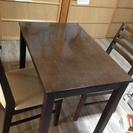 2人用 テーブル 椅子 ダイニングセット