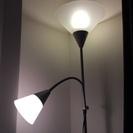 IKEA フロアアップライト/読書ランプ