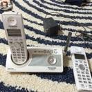 パナ 子機付き電話機
