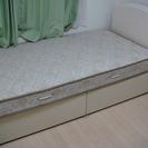 シングルベッド マットレス付き 中古 超美品
