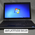 dell LATITUDE E6520/Core i7/無線/マル...