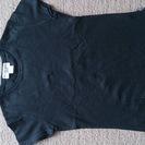 ナチュラルビューティベーシック★黒半袖Tシャツ(USED)