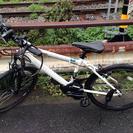 交渉中: パナソニック電動自転車【ハリヤー/白】