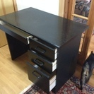 【無料で差し上げます!】黒い机
