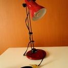 【電気スタンド】(色:ボルドー)スタンドライト・スタンドランプ・卓...