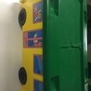 知育玩具のLEGO デュプロ 移動車輪付きの収納ケース入り