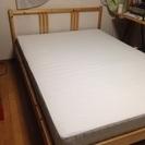 IKEA ダブルベッドセット 総額37000円 良品♩