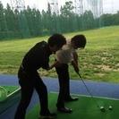 カフェスタッフorゴルフ練習場フロント、集球