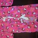 100センチ ピンクのキティ柄ゆかた