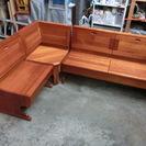 木製 ダイニングチェア 収納付き ベンチ イス  コーナー 椅子 家具