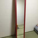 【終了】床置きスタンド型、全身姿見鏡