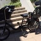 美品!付属品色々。三人乗り自転車