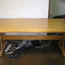 無垢のテーブル&椅子 椅子は決まりました。 テーブルも決まりました。