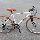 【点検整備済】 人気のクロスバイク