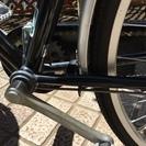 【あげます】シティサイクル/自転車(27インチ・黒) - 自転車