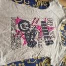 バイクプリントシャツ サイズM