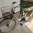26インチ・パナソニック電動自転車。新品同様・市川市