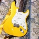 エレキギター fender squier