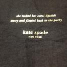 Kate Spade の バックを入れていた袋