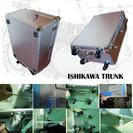 高級品アルミハードケース   スネアドラム&ツインペダル   車輪...