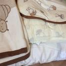 中古使用品 ■ ミッフィ赤ちゃん布団セット 差し上げます