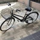 26インチ 自転車 黒 中野区