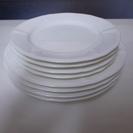 未使用、業務用、皿、ホワイトプレート、セット