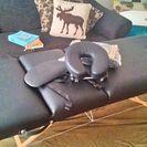 【美品】マッサージベッド 折り畳み式 キャリーカバー付 - 家具