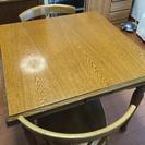 ダイニングテーブル&椅子2脚セット