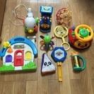 色々な赤ちゃんの遊具