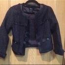 20万円→ 新品 m,i,d Japon 黒 ツイード ジャケット...