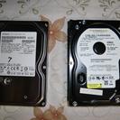 3.5インチHDD 500GBと80GB  XP対応