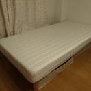 ●終了●【引取限定】足つきマットレスベッド シングルサイズ