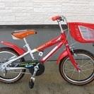 ブリヂストン 子供自転車16インチ 補助輪有り