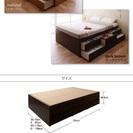 シンプルチェストベッド【Tanto】タント 【三つ折りポケットコイ...