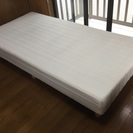 ホワイトシングルベッド