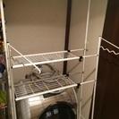 洗濯機の上収納棚