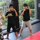 子どものキックボクシング教室