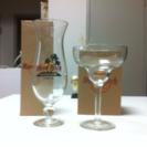 ハードロックカフェ グラス2個セット(未使用、箱付き)