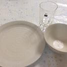 お皿&お茶碗&ガラスコップ