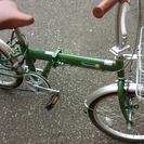 折りたたみ自転車 美品です チェーンもサービスで