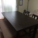 【交渉中】美品 和モダンなダイニングテーブルセット